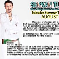 Serkan Tutar August 2017 intensive summer training