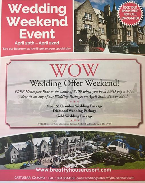 Easter Wedding Weekend April 20th-22nd