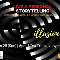 Open-mic themed personal storytelling event