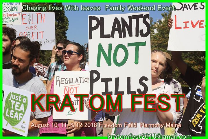 Kratom Fest 2018 Changing Lives With Leaves