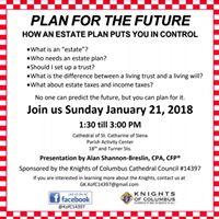 Estate Planning Seminar (no cost)