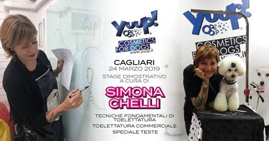 Cagliari - 24 MARZO - Stage con la meravigliosa Simona Chelli