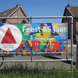 Feest 65 jaar Buurthuis Pertsgad