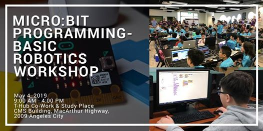 Micro:bit Programming – Basic Robotics Workshop at T-Hub Co