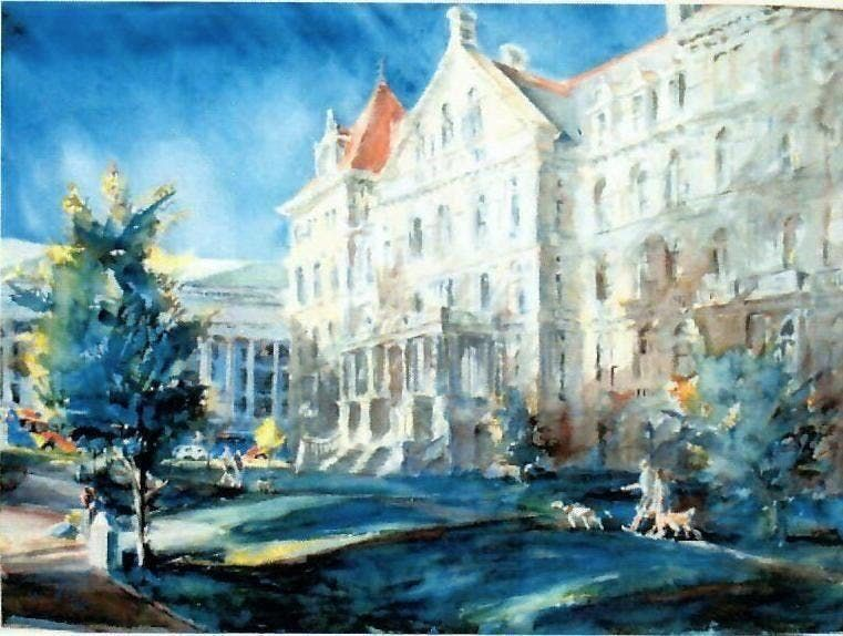 Urban Landscape in Watercolor with Kevin Kuhne