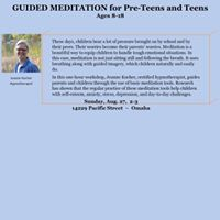 Guided Meditation for Pre-Teens and Teens