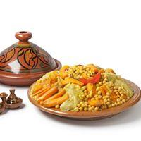 Cocina Marroqu  Moroccan Cooking  Cous Cous