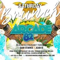 Saturday Beach Brunch with Arcade 82