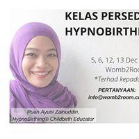 Kelas HypnoBirthing Disember 2015  Sri Damansara