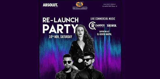 Flying Elephant Re-launch w Answer & Candice Redding