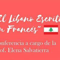 Conferencia &quot El Libano Escrito en Frances&quot