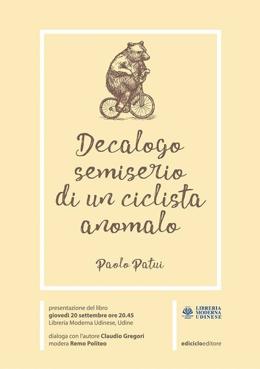 Decalogo semiserio di un ciclista anomalo at Libreria Moderna ...