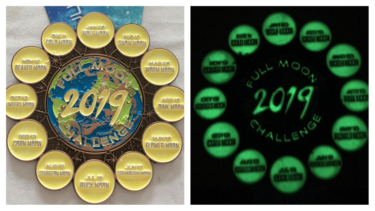 2019 Full Moon Running & Walking Challenge - Albany