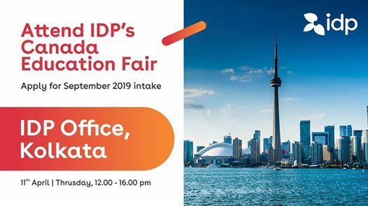 IDPs Biggest Canada Education Fair in Kolkata