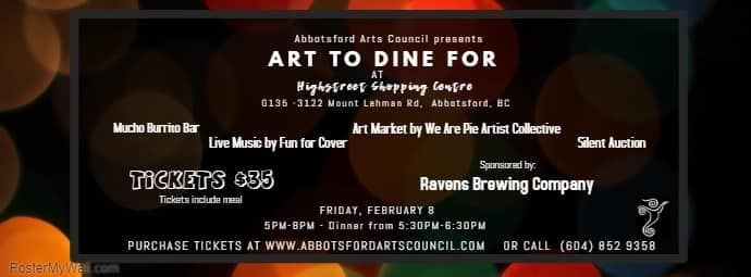 Art To Dine For