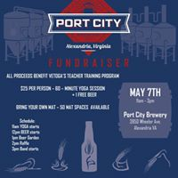 Yoga and Beer VETOGA Fundraiser