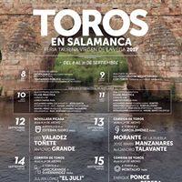 Gins Marn torea en la Feria de Salamanca