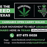 Cannabis Open Carry Walk XI (Tyler)