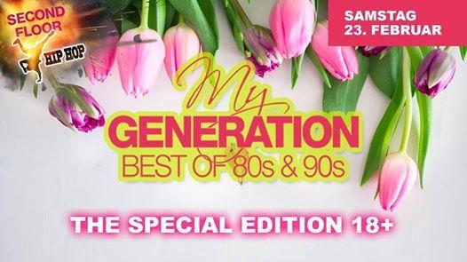 My Generation 18 I Musik der 80er90er  Second Floor Hip Hop