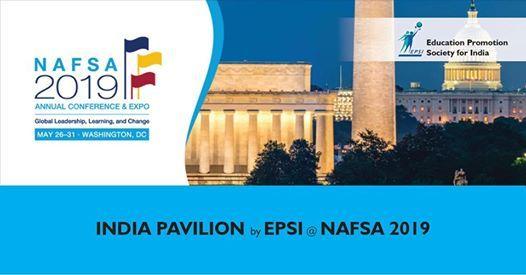India Pavilion by EPSI at NAFSA 2019