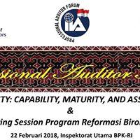 Professional Auditor Forum (PAF) II 2018 Kamis 22 Februari 2018