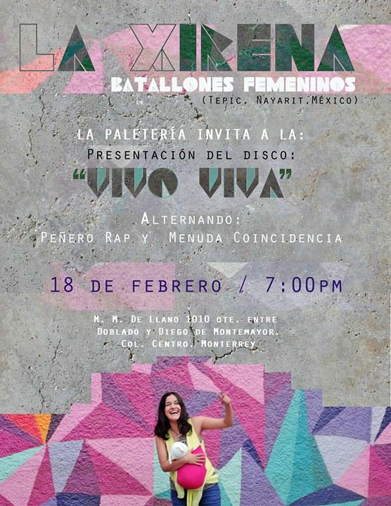 Presentacion De Disco Vivo Viva La Xirena Bf At La Paleteria