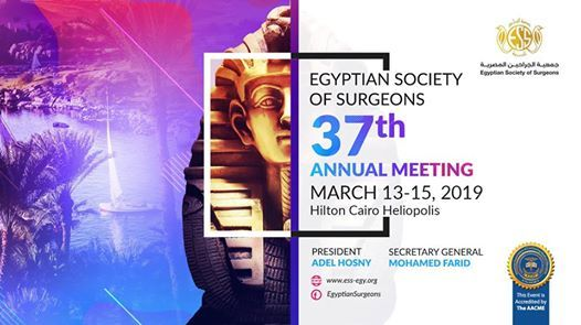 37th Annual Meeting of Egyptian Society of Surgeons
