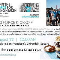 Lung Force Ice Cream Social