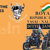 Royal Thumps Republic Day City Ride (Vasai-Virar)