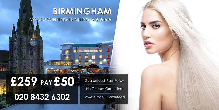 Birmingham - 4 Method Hair Extension Course 020 8432 6302