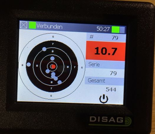 Laser Target at the Active School Games (North)