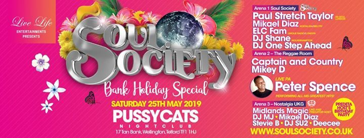 Soul Society Bank Holiday Special