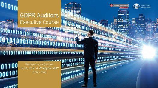 GDPR Auditors Executive Course