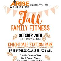 Arise Athletics Fall Family Fitness