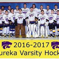 Eureka Varsity Hockey Game - Catpound Night