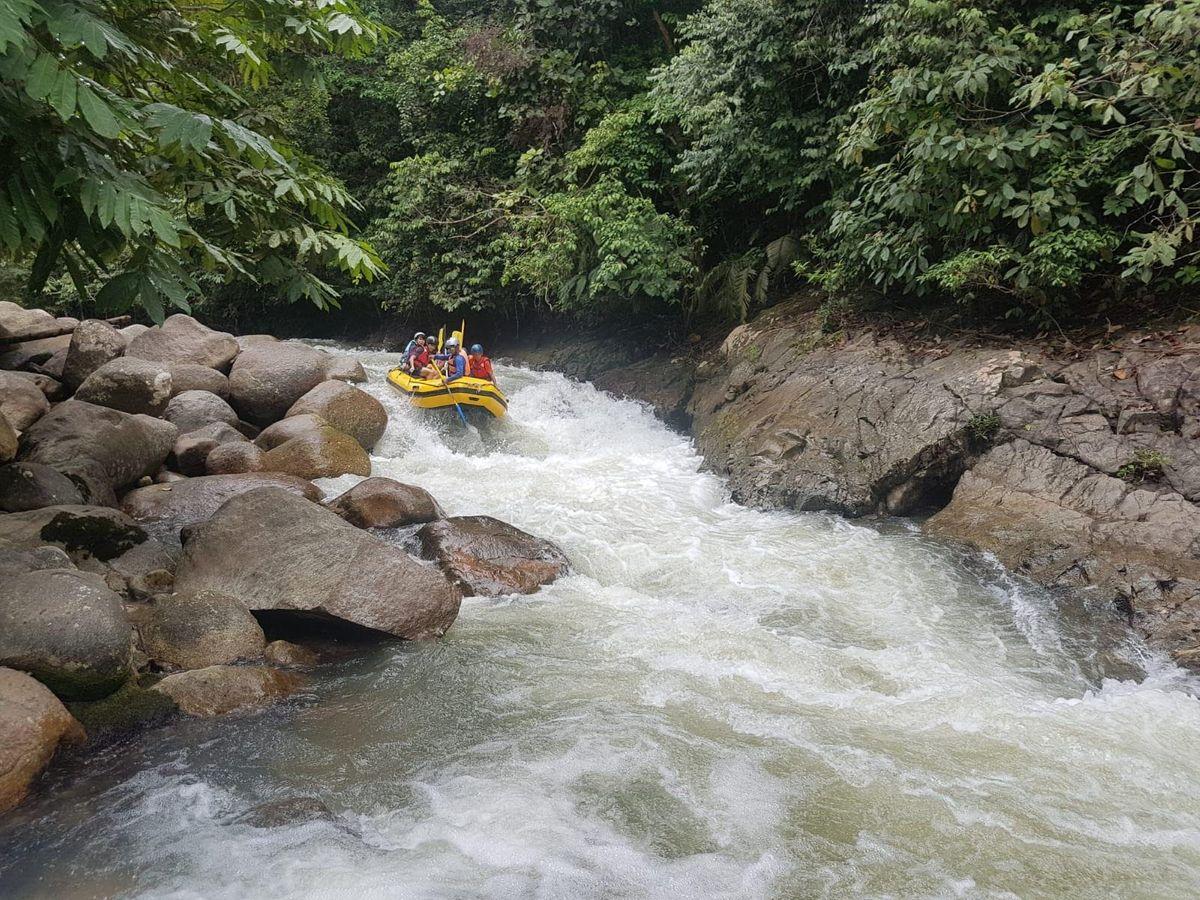 Waterfall Abseiling  Caving  Water Rafting & Camping