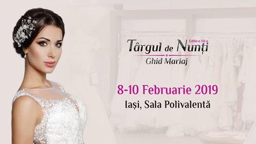 Trgul de nuni Ghid Mariaj ediia a XII-a 8-10 februarie 2019