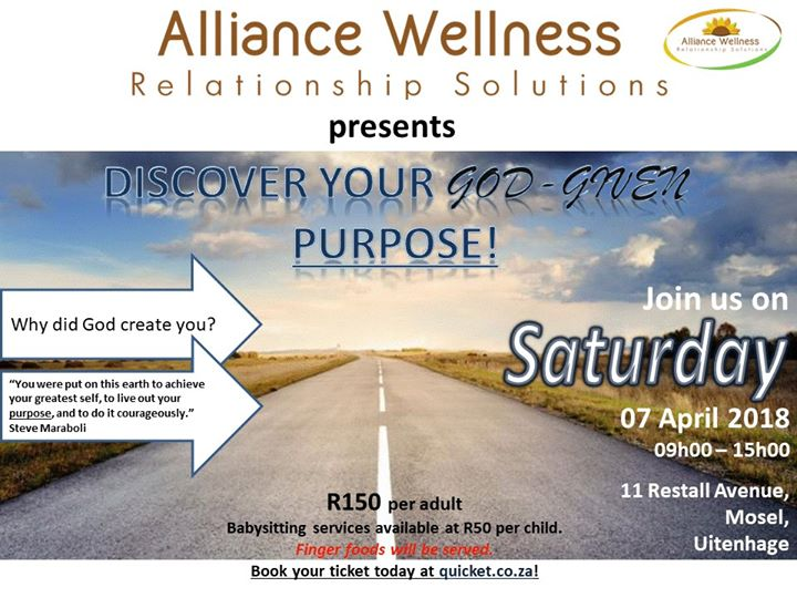 Discover YOUR God-Given Purpose at 11 Restall Ave, Uitenhage, 6229