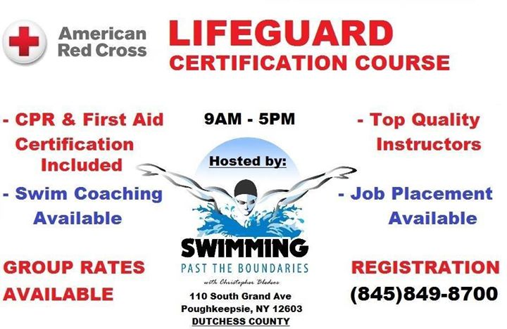 Red Cross Lifeguard Certification Course Poughkeepsie Ny 350 At