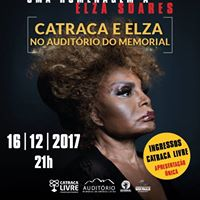 Elza Soares no Memorial - Ingressos Gratuitos Esgotados