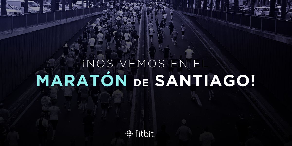 Maratn de Santiago - Fitbit