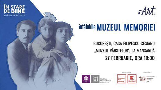 ntlnirile Muzeul Memoriei Casa Filipescu-Cesianu