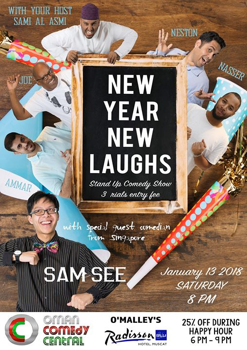 New Year New Laughs