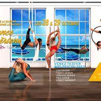 Stage Darien Pole Dance  Street Workout  Contorsion  Tissus  Cerceau