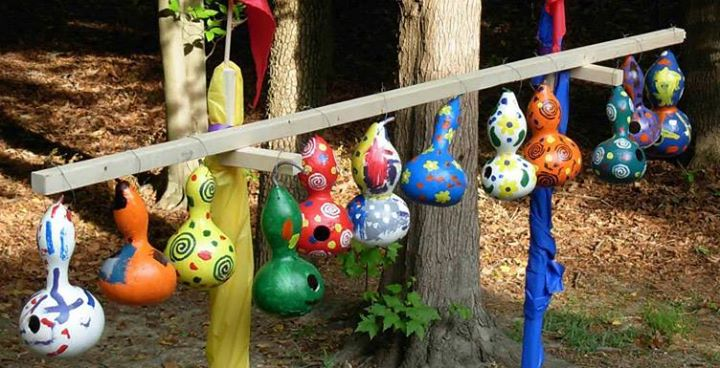 Gourd Birdhouse Painting at St. Paul's Lutheran Church and ...
