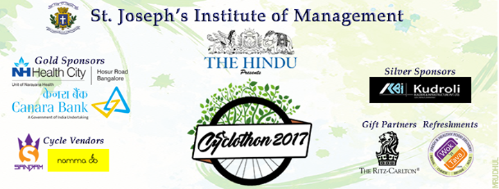 The Hindu presents SJIM Cyclothon