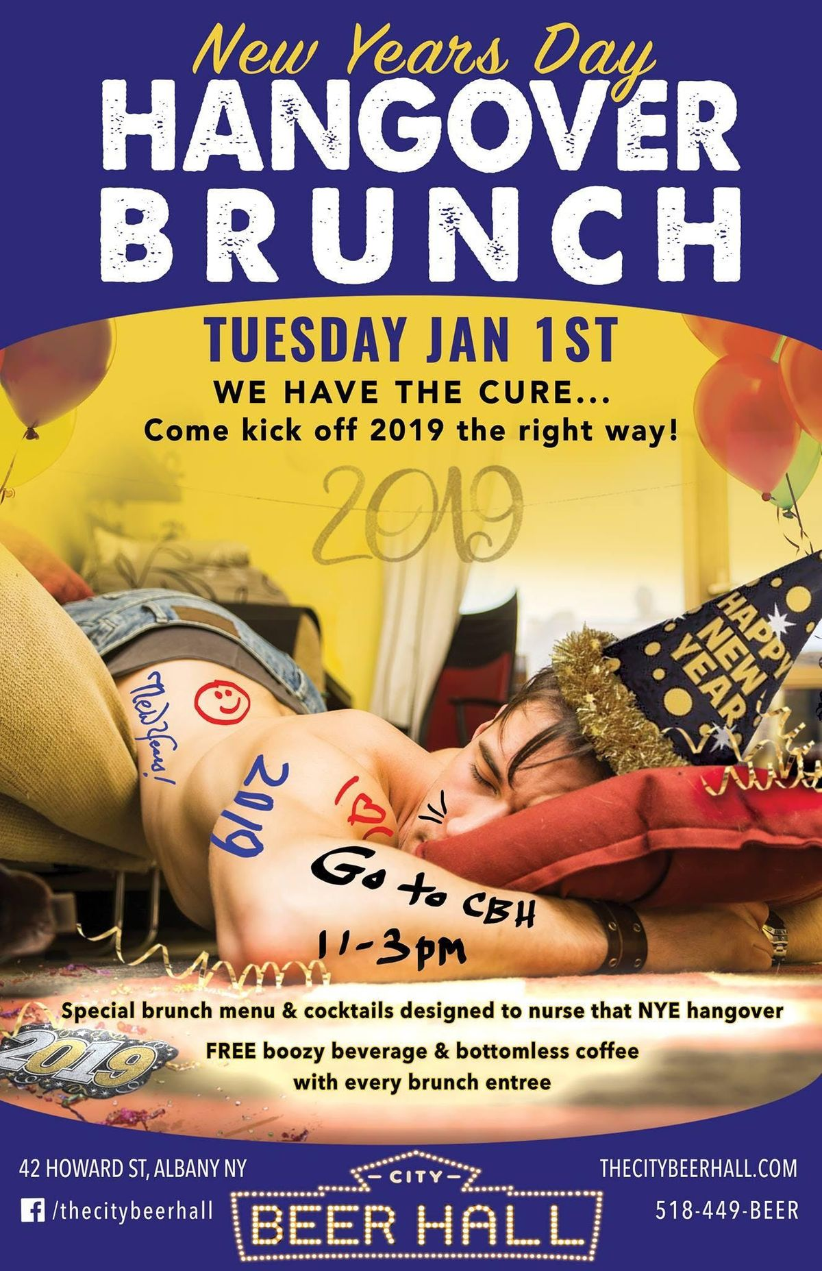 Hangover Brunch - New Years Day