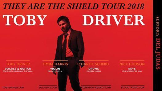 Toby Driver  Del Judas  Nick Hudson