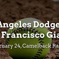Spring Training Los Angeles Dodgers vs. San Francisco Giants