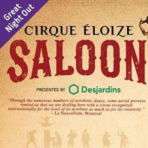 Cirque loize Saloon - Mississauga